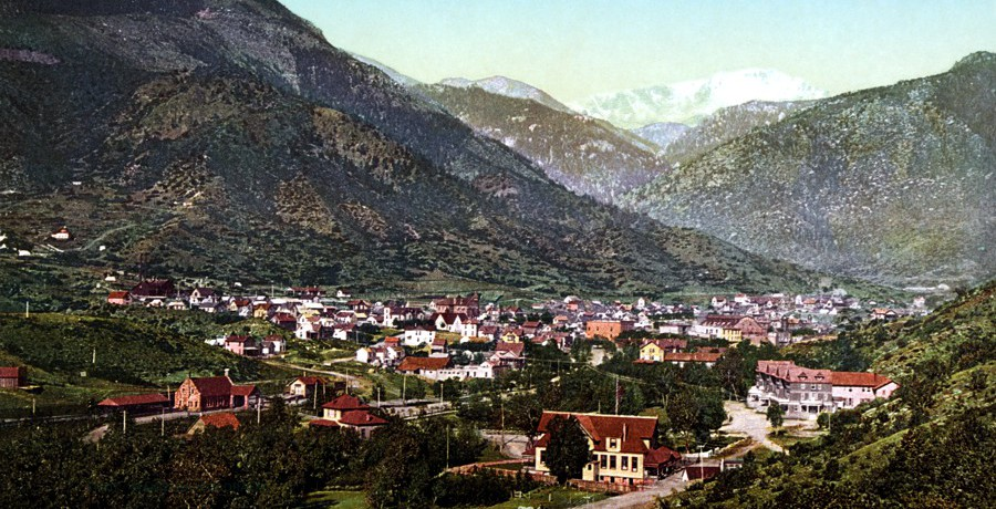 History of Manitou Springs