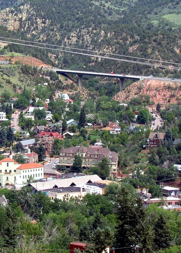 Manitou Springs View from Mountain