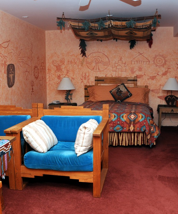 Sally Renovated, Painted and Decorated all 10 suites at Blue Skies Inn
