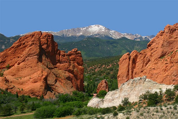 Garden of the Gods near Blue Skies Inn in Manitou Springs