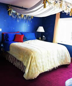 Starlight Suite in Blue Skies Inn Bed & Breakfast
