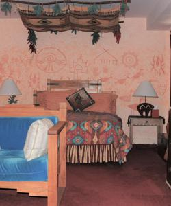 Indian Rock Art Suite in Blue Skies Inn Bed & Breakfast